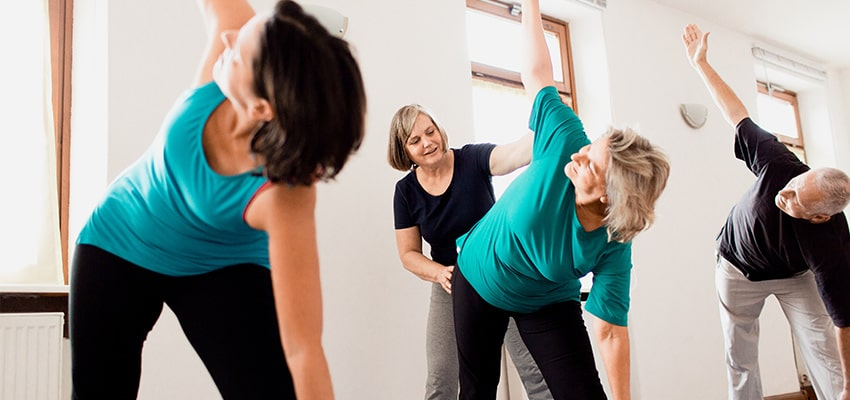 Yogaunterricht Kloster